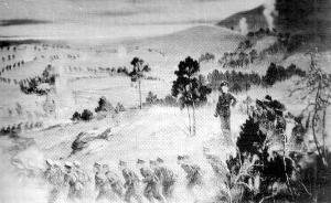 民国巨幅组画《北伐史画》下落:被日寇野蛮毁坏