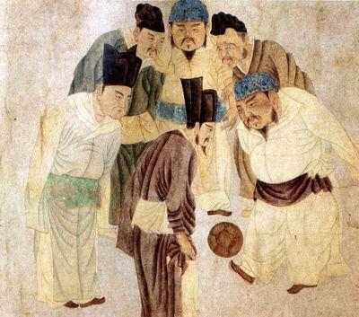 中国古代的蹴鞠是世界足球之源