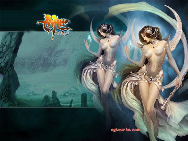 网络游戏美女设计欣赏