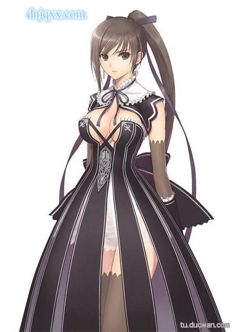 游戏《光明之刃》人设之剑之美少女