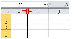 Excel如何隐藏列和显示隐藏的列?